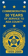 Deputy Marshal Banner: Commemorating 50 Years of Service to Ada County